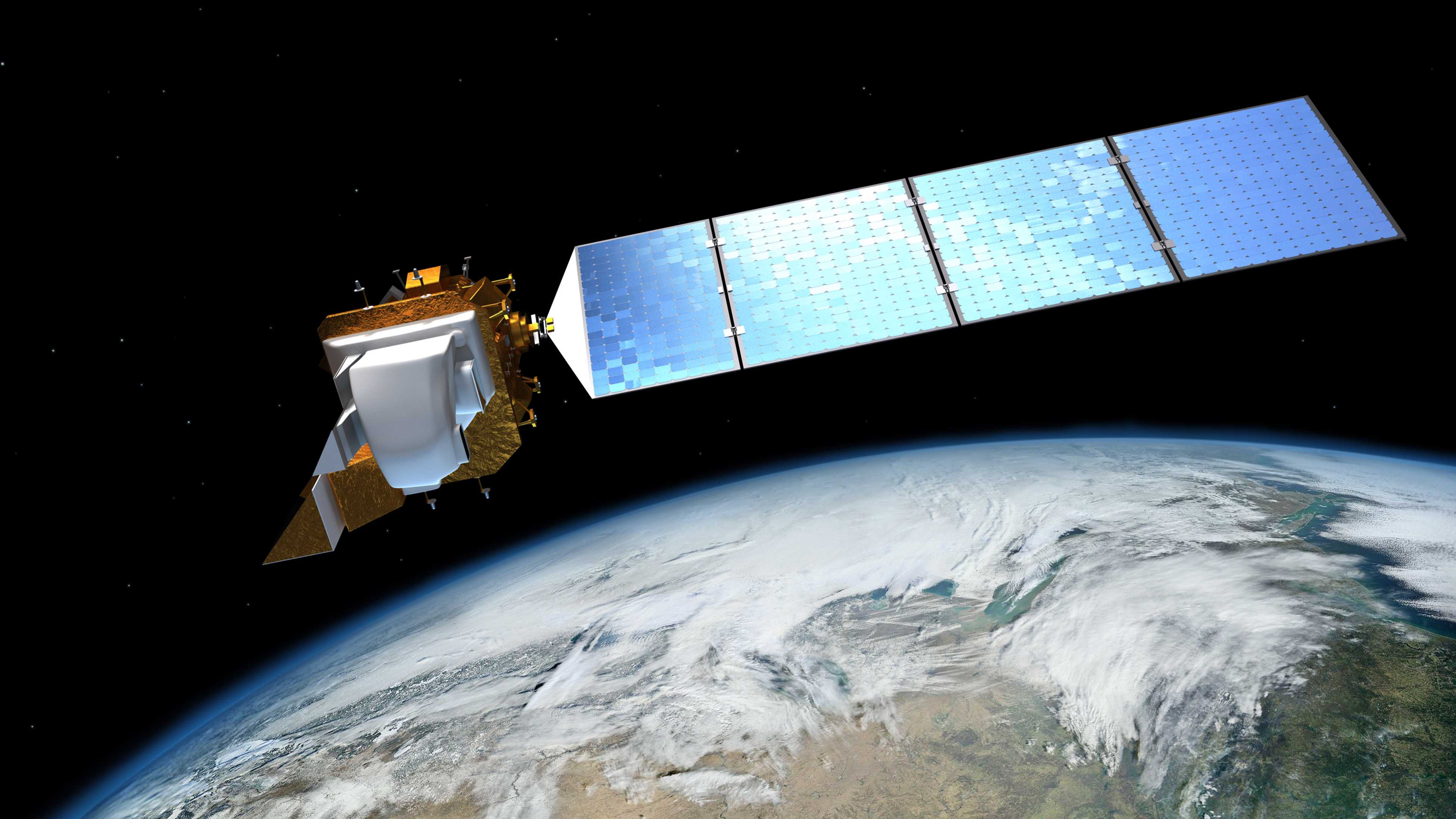 Landsat 8, an Earth Observation satellite operated by NASA
