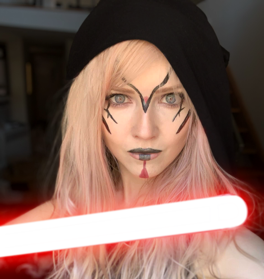 Kelly as a Sith Lord